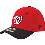 New Era Men's Washington Nationals 39Thirty Alternate Classic Navy Flex Hat