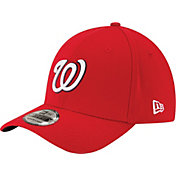 New Era Men's Washington Nationals 39Thirty Classic Red Flex Hat