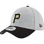 New Era Men's Pittsburgh Pirates 39Thirty Change Up Redux Grey Stretch Fit Hat