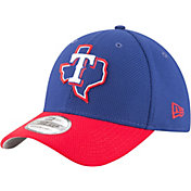 New Era Men's Texas Rangers 39Thirty Diamond Era Royal Flex Hat