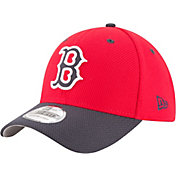New Era Men's Boston Red Sox 39Thirty Diamond Era Red Flex Hat
