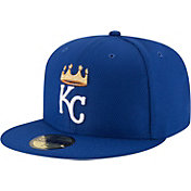 New Era Men's Kansas City Royals 59Fifty Diamond Era Royal Fitted Hat