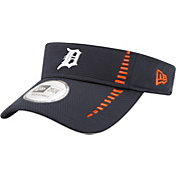 New Era Men's Detroit Tigers Navy Adjustable Speed Visor