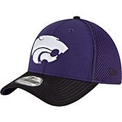 New Era Men's Kansas State Wildcats Team Front Purple/Black Neo 39Thirty Stretch Fit Hat