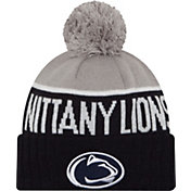 New Era Men's Penn State Nittany Lions Blue/Grey NE 15 Sport Knit Beanie