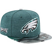 New Era Men's Philadelphia Eagles 2017 NFL Draft 9Fifty Adjustable Green Hat