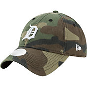 New Era Women's Detroit Tigers 9Twenty Camo Preferred Pick Adjustable Hat