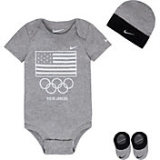 Nike Newborn USA Flag Bodysuit Set