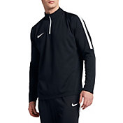 Nike Men's Dry Academy Drill Long Sleeve Quarter Zip Soccer Shirt