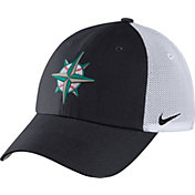Nike Men's Seattle Mariners Dri-FIT Navy/White Heritage 86 Adjustable Hat