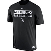 Nike Men's Chicago White Sox Dri-FIT Authentic Collection Black Legend T-Shirt