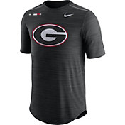Nike Men's Georgia Bulldogs Football Player Black T-Shirt