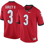 Nike Men's Todd Gurley Georgia Bulldogs #3 Red Replica College Alumni Jersey