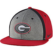 Nike Men's Georgia Bulldogs Red/Grey Sideline True Adjustable Performance Hat
