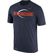 Nike Men's Syracuse Orange Blue Football Icon Legend T-Shirt