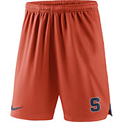 Nike Men's Syracuse Orange Orange Knit Football Sideline Performance Shorts