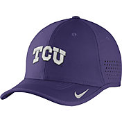 Nike Men's TCU Horned Frogs Purple Vapor Sideline Coaches Hat