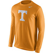 Nike Men's Tennessee Volunteers Tennessee Orange Logo Long Sleeve Shirt