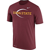 Nike Men's Iowa State Cyclones Cardinal Football Icon Legend T-Shirt