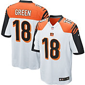 Nike Men's Away Game Jersey Cincinnati Bengals A.J. Green #18