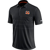Nike Men's Cincinnati Bengals Sideline 2017 Early Season Black Polo