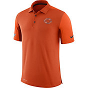 Nike Men's Chicago Bears Sideline 2017 Team Issue Orange Polo