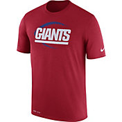 Nike Men's New York Giants Legend Football Icon Performance Red T-Shirt