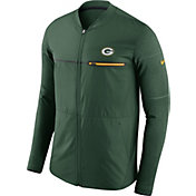Nike Men's Green Bay Packers Sideline 2017 Shield Hybrid Green Jacket