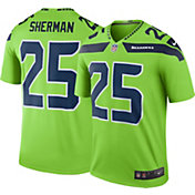 Nike Men's Color Rush Seattle Seahawks Richard Sherman #25 Legend Jersey