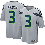 Nike Men's Alternate Game Jersey Seattle Seahawks Russell Wilson #3