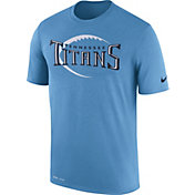 Nike Men's Tennessee Titans Legend Football Icon Performance Blue T-Shirt