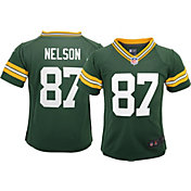 Nike Toddler Home Game Jersey Green Bay Packers Jordy Nelson #87
