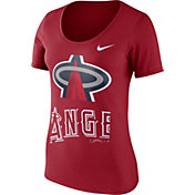 Nike Women's Los Angeles Angels Red Scoop Neck T-Shirt