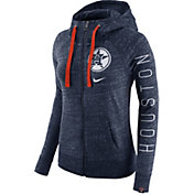Nike Women's Houston Astros Vintage Navy Full-Zip Hoodie