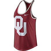 Nike Women's Oklahoma Sooners Crimson Dri-Blend Tank Top
