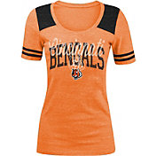 New Era Women's Cincinnati Bengals Orange Tri-Blend T-Shirt