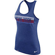 Nike Women's New York Giants Dri-FIT Touch Performance Blue Tank Top
