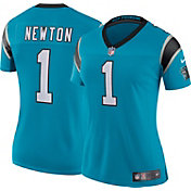 Nike Women's Color Rush 2017 Limited Jersey Carolina Panthers Cam Newton #1