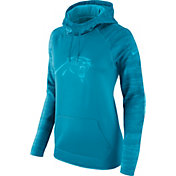Nike Women's Carolina Panthers Therma-FIT Blue Performance Hoodie