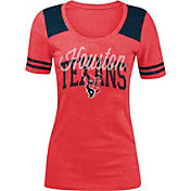 5th & Ocean Women's Houston Texans Red Tri-Blend T-Shirt