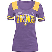 5th & Ocean Women's Minnesota Vikings Purple Tri-Blend T-Shirt