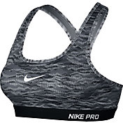 Nike Women's Pro Classic Padded Reflect Printed Compression Sports Bra
