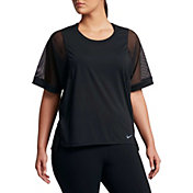 Nike Women's Plus Size Breathe Versa T-Shirt