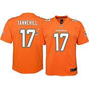 Nike Youth Color Rush Game Jersey Miami Dolphins Ryan Tannehill #17