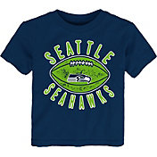 NFL Team Apparel Toddler Seattle Seahawks Place Kicker T-Shirt