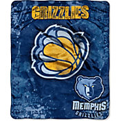 Northwest Memphis Grizzlies Dropdown Raschel Throw Blanket