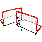 PRIMED Pop-Up Knee Hockey Goal Set