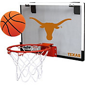 Rawlings Texas Longhorns Game On Backboard Hoop Set