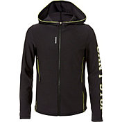 Reebok Girls' Graphic Twist Full Zip Jacket