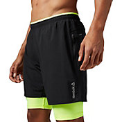 Reebok Men's Essential Two-In-One Running Shorts